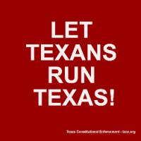 Texas Constitutional Enforcement