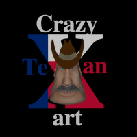 Crazy Texan Art