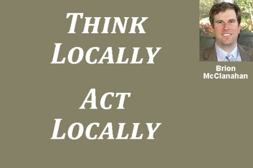 Brion McClanahan - Think Locally Act Locally