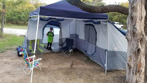 Camping at Lake Mineral Wells
