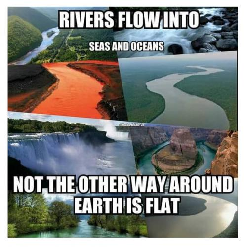 LOGIC ONLY ON A FLAT EARTH
