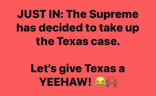 Texas and SCOTUS