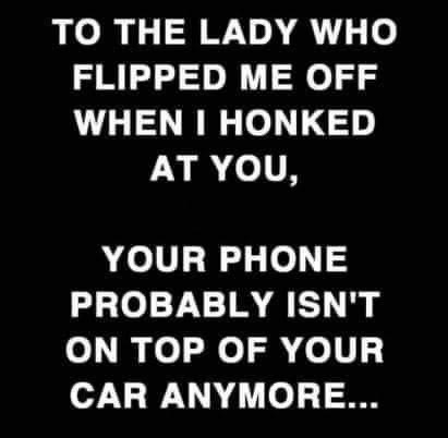 Mommy Flipped me off