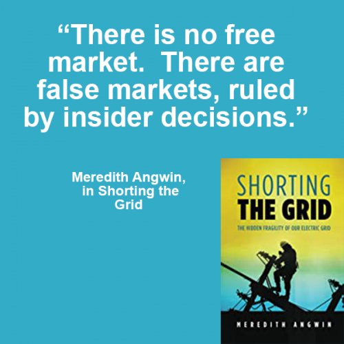 Meredith Angwin - There is no free market - there are false markets