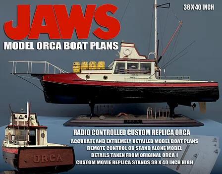 Orca Boat Model